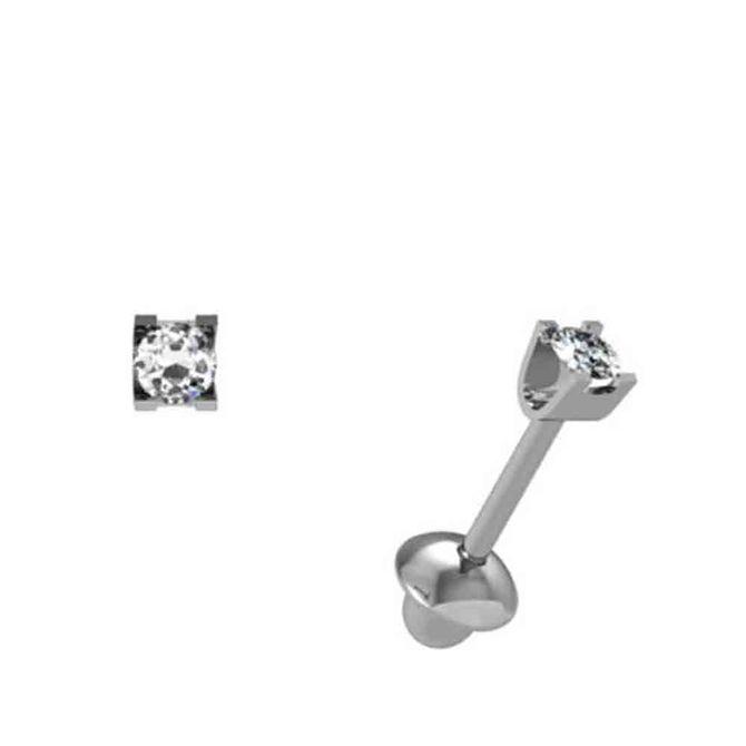 Brinco-Cartier-Ouro-Branco-4.5-Pontos-de-Diamante-18kt-750