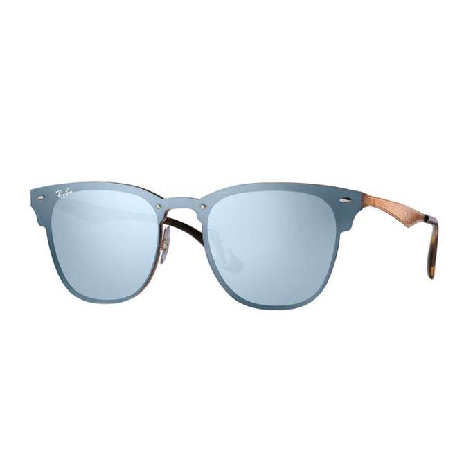 Óculos Ray-Ban Blaze Clubmaster Azul RB3576N 9039 1U 47 69c9f433eb