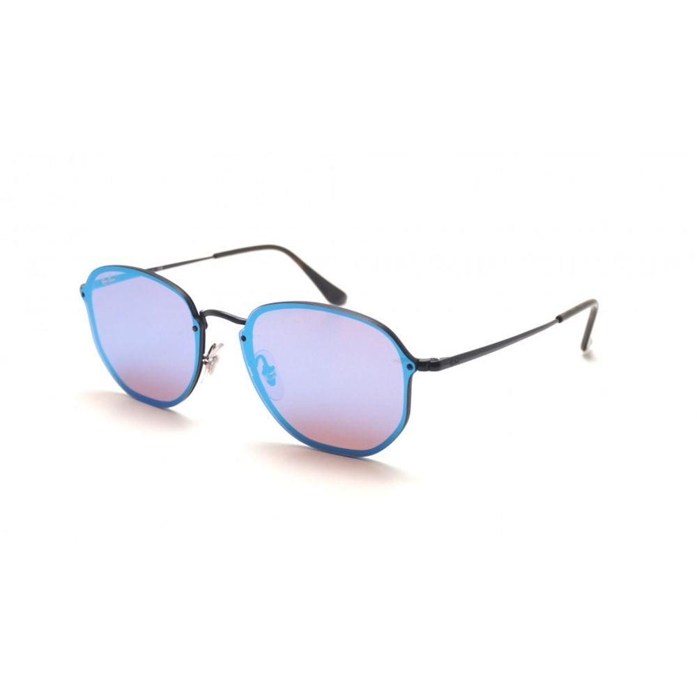 4d2724c96 Óculos Ray-Ban Blaze Hexagonal Roxo RB3579N 153 7V 58 - omegadornier