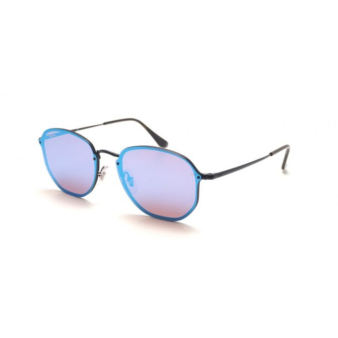 Óculos Ray-Ban Blaze Hexagonal Roxo RB3579N 153 7V 58 c76e040fc0