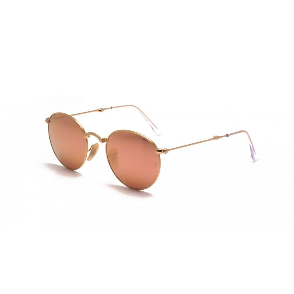 7ce20a34b Óculos Ray-Ban Round Metal Dobrável Rosê RB3532 001 Z2 50 - omegadornier