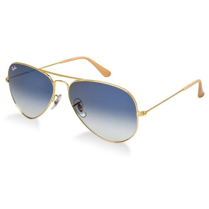 Óculos Ray-Ban Aviator RB3025L 001 3F 58 - omegadornier c003a3a65a