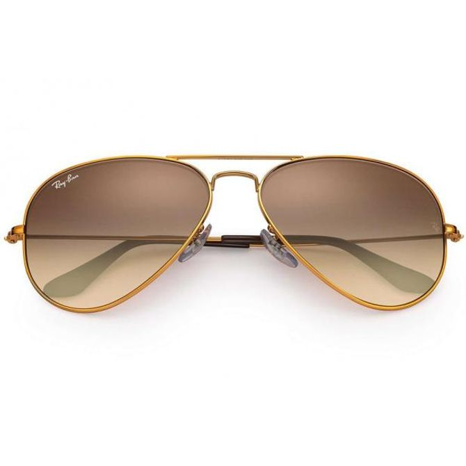 d472a67a3cf96 Óculos Ray Ban Aviator Large Metal li RB3026L 9001-A5 62 Bronze - Lente  Rosê Degradê