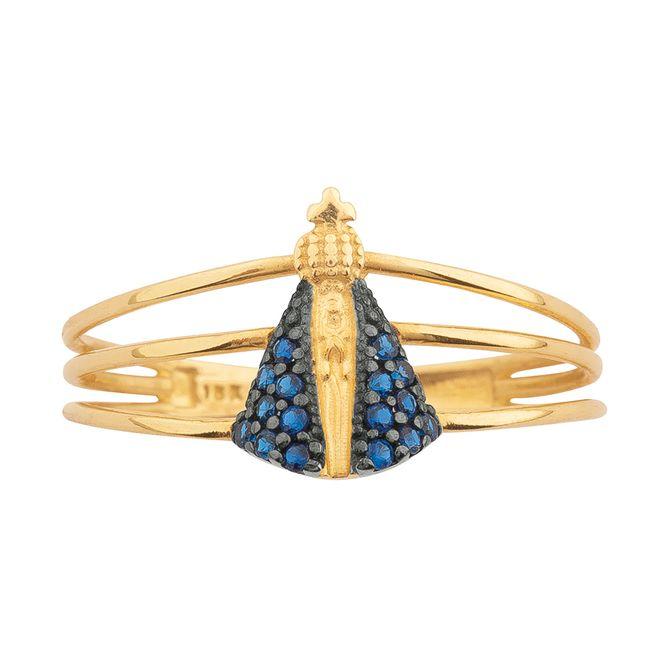 anel-nossa-senhora-aparecida-ouro-18k-e-zircônia-azul