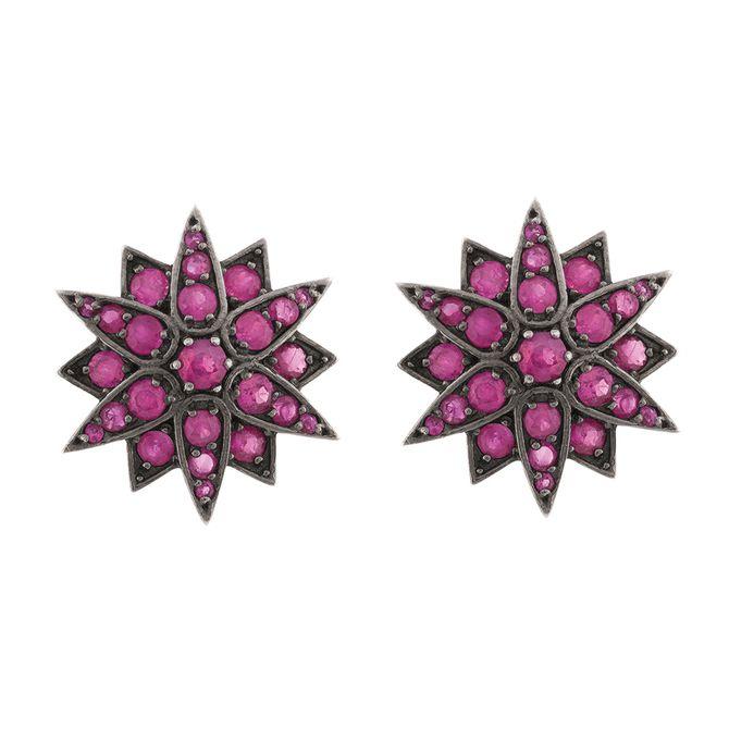 brinco-ouro-18k-750-estrela-rubis-e-rodio-negro