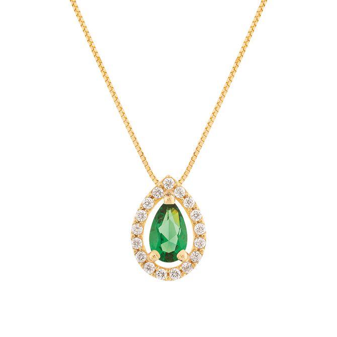 gargantilha-gota-ouro-18k-750-com-esmeralda-sintetica-e-zirconia