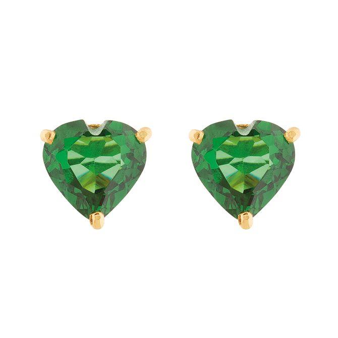 brinco-ouro-18k-750-coracao-zirconia-verde