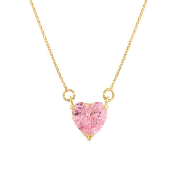 gargantilha-coração-de-zirconia-rosa-ouro-18k-750