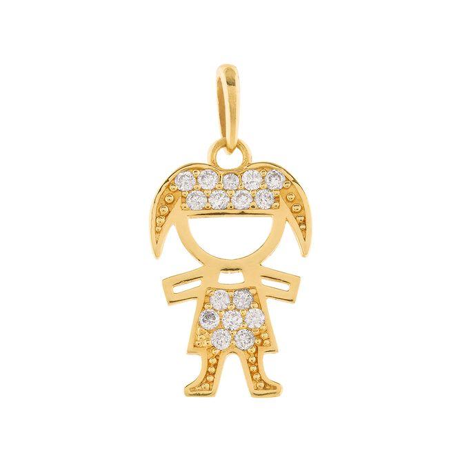 pingente-menina-chiquinha-com-diamante-ouro-18k-750