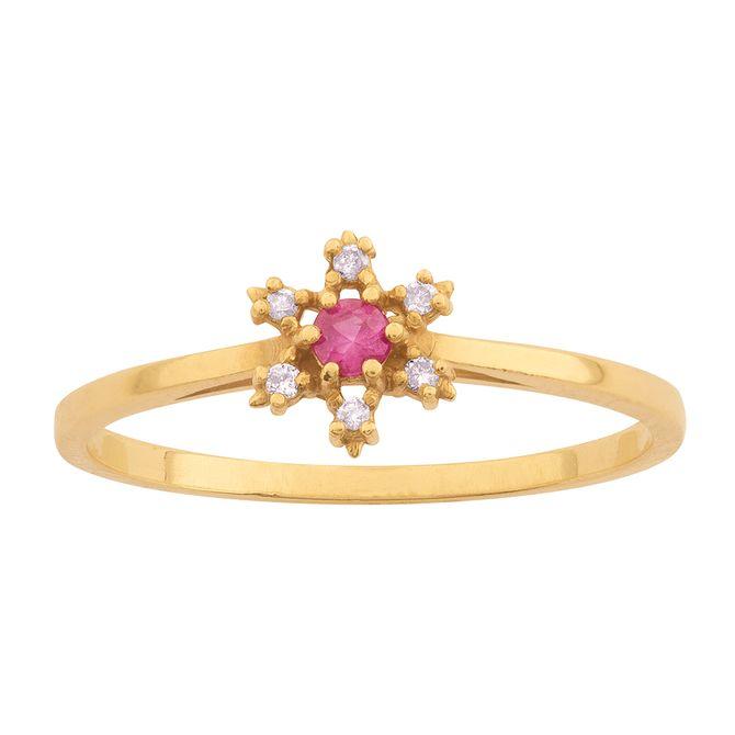 anel-flor-diamantes-com-rubi-ouro-18k-750
