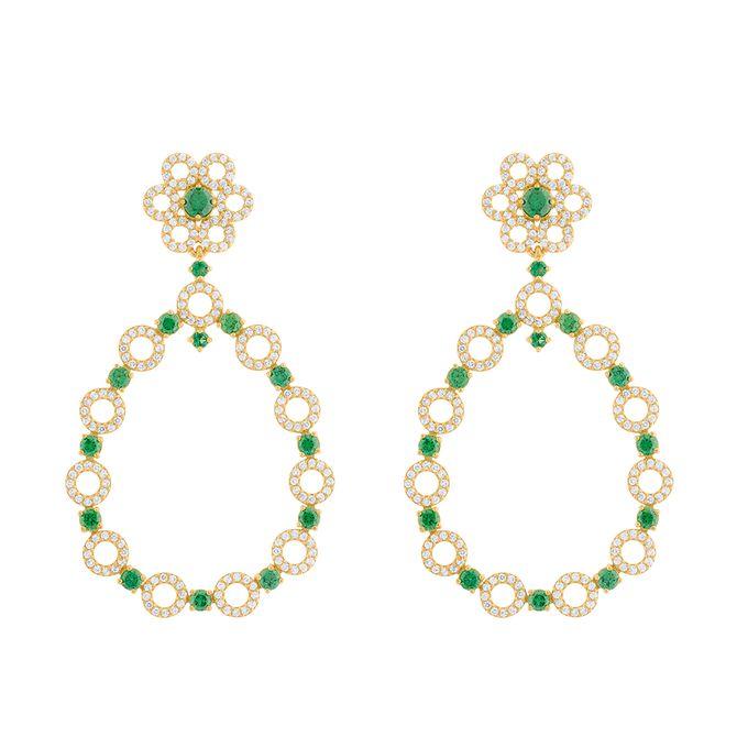 brinco-flor-com-esmeraldas-sinteticas-e-zirconias-ouro-18k-750