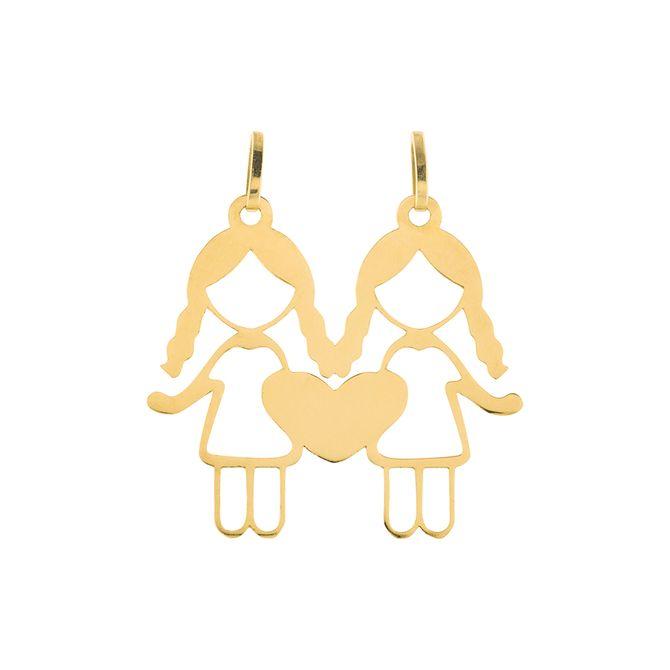 pingente-menina-2-coracoes-ouro-18k-750