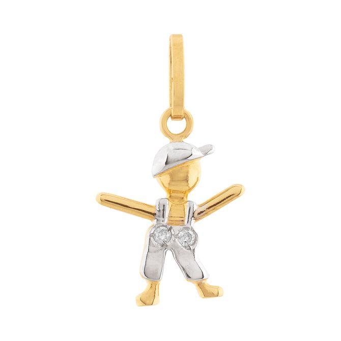 pingente-menino-2-diamantes-ouro-18k-750