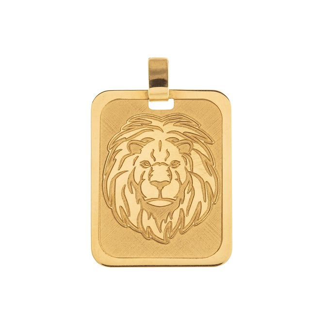 pingente-placa-leao-fosco-e-liso-ouro-18k-750