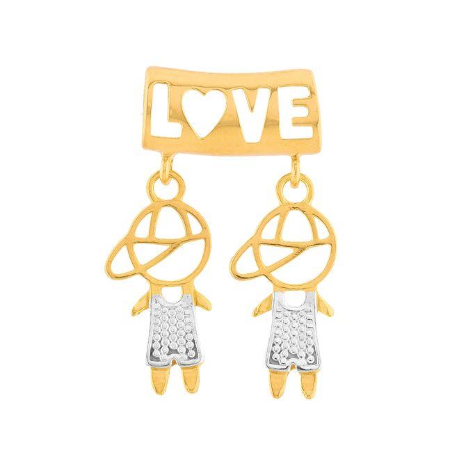 pingente-canga-love-2-meninos-ouro-18k-750