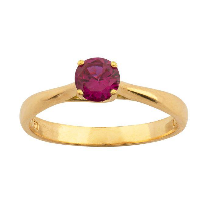 anel-solitario-rubi-sintetico-ouro-18k-750