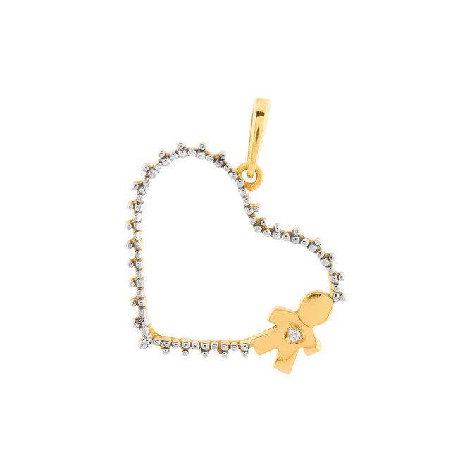 pingente-coracao-menina-bicolor-ouro-18k-750