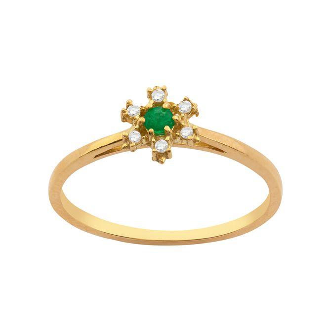 anel-flor-esmeralda-ouro-18k-750